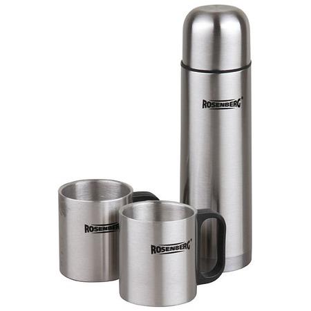 Купить Набор подарочный: термос и кружки Rosenberg RSS-420105
