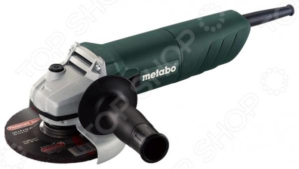 Машина шлифовальная угловая Metabo W 750-125 ушм болгарка metabo w 750 125 601231010