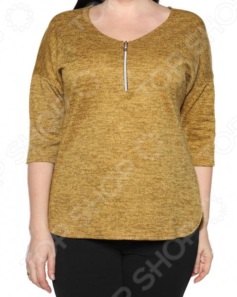 Блуза Blagof «Безоблачный день». Цвет: горчичный блуза blagof блуза мерси цвет персиковый