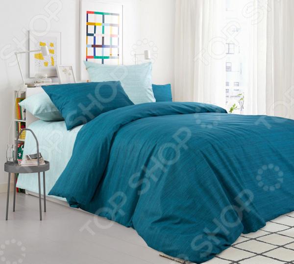 Комплект постельного белья ТексДизайн «Изумрудная зелень»