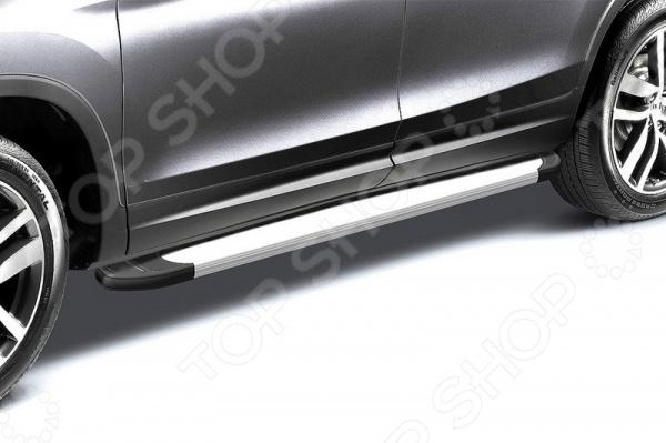 Комплект защиты штатных порогов Arbori Optima Silver 1700 для Toyota RAV4, 2015 комплект адаптеров атлант 8858