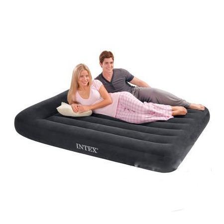 Купить Матрас-кровать надувной Intex с электрическим насосом «Ин хом»