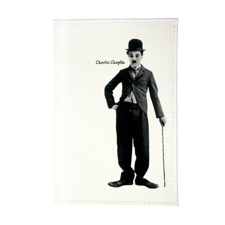Купить Обложка для паспорта Mitya Veselkov «Чарли Чаплин»