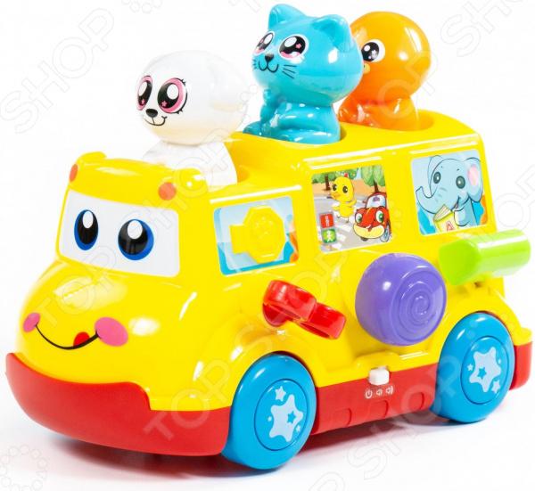 Игрушка развивающая POLESIE «Школьный автобус»