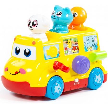 Купить Игрушка развивающая POLESIE «Школьный автобус»
