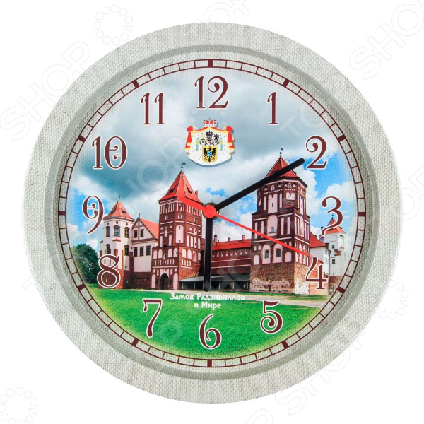 Часы настенные Miolla «Замок» часы настенные miolla часы замок