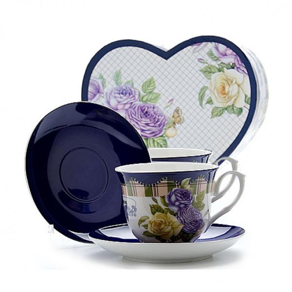 Чайная пара Mayer&Boch MB-22990 «Розы»