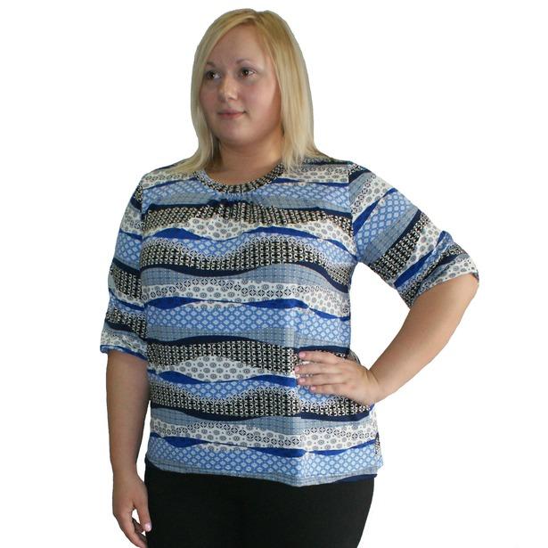 фото Комплект блуза и брюки Матекс Мальвина. Размер одежды: 62