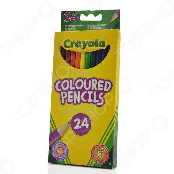 Набор цветных карандашей Crayola «Coloured Pencils» crayola llc crayola oil pastels 28 color set set of 12