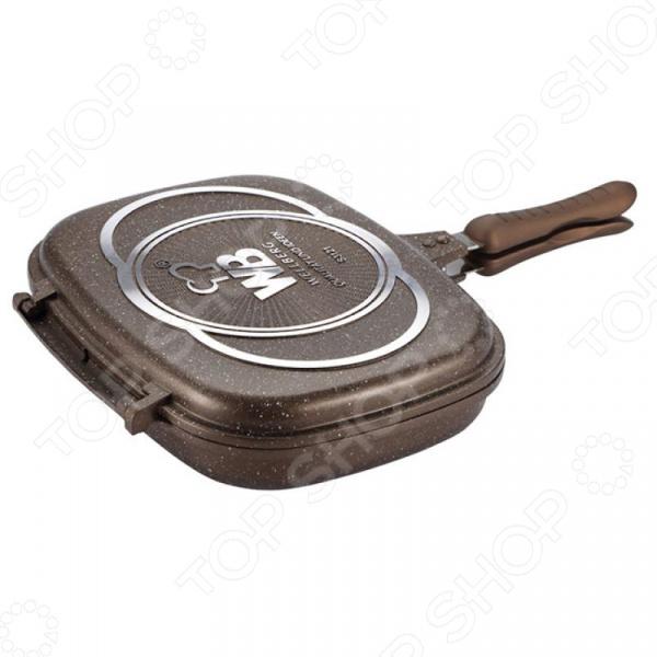 Сковорода-гриль двусторонняя Wellberg Assado
