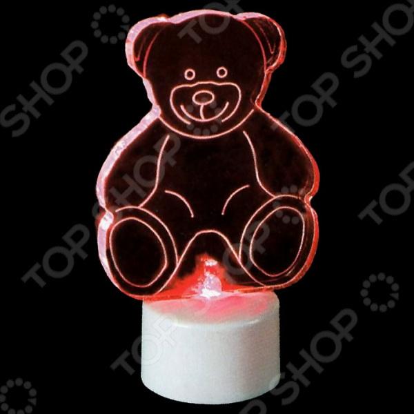 Фигура светодиодная Neon-Night «Мишка 2D»