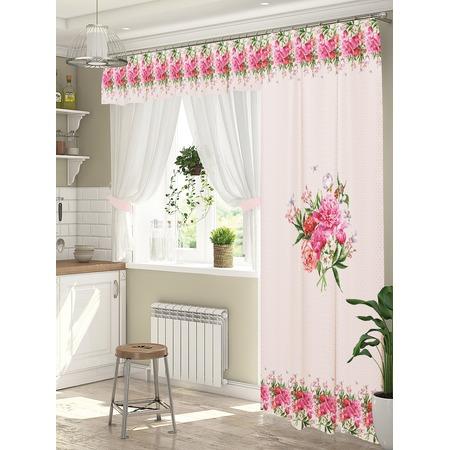 Купить Комплект штор для окна с балконом ТамиТекс «Глэдис»