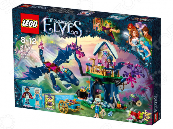 Конструктор игровой LEGO Elves «Тайная лечебница Розалин»