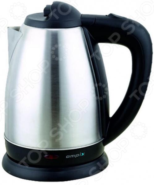 Чайник электрический «Гейзер» Этовозможно благодаря закрытому нагревательному элементу, за счет...