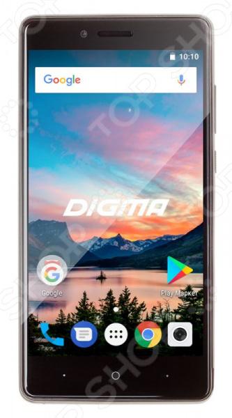 Смартфон Digma HIT Q500 3G 8Gb это отличное соотношение цены и качества. Стильный дизайн, продуманный функционал и качественная сборка делают его прекрасным выбором для тех, кто всегда и везде хочет оставаться на связи. Модель двухсимочная. Это очень удобно, так как позволяет одновременно пользоваться услугами сразу нескольких операторов.  Мощный четырехъядерный процессор обеспечивает надежную и бесперебойную работу гаджета. Аккумулятор же имеет достаточно большую емкость, что позволяет долго пользоваться смартфоном без необходимости в частой подзарядке. Помимо прочего, девайс также снабжен встроенным GPS модулем, FM-тюнером и Bluetooth-интерфейсом.  Особенности и преимущества  Поддержка GPS.  Автоматический поворот экрана.  FM-радио возможность использования смартфона в качестве FM-проигрывателя.  Поддержка Bluetooth функция, позволяющая передавать файлы с одного устройства на другое.  Тыловая и фронтальная камеры позволяют снимать на телефон фотографии с разрешением 8 и 2 Мп соответственно.  Оптимальная емкость аккумулятора позволяет долго пользоваться телефоном без необходимости в частой подзарядке.  Использование карт памяти при необходимости вы можете расширить память телефона с помощью microSD карты до 32 Гб.