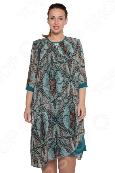 Платье Pretty Woman «Праздничный вид». Цвет: бирюзовый