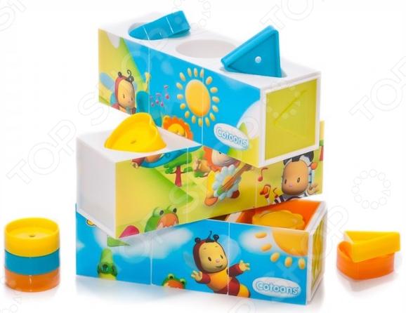 Кубики развивающие Smoby «Пазлы» smoby smoby развивающая игрушка кубики пазлы