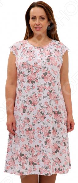 Сорочка Алтекс «Цветущая яблоня». Цвет: розовый