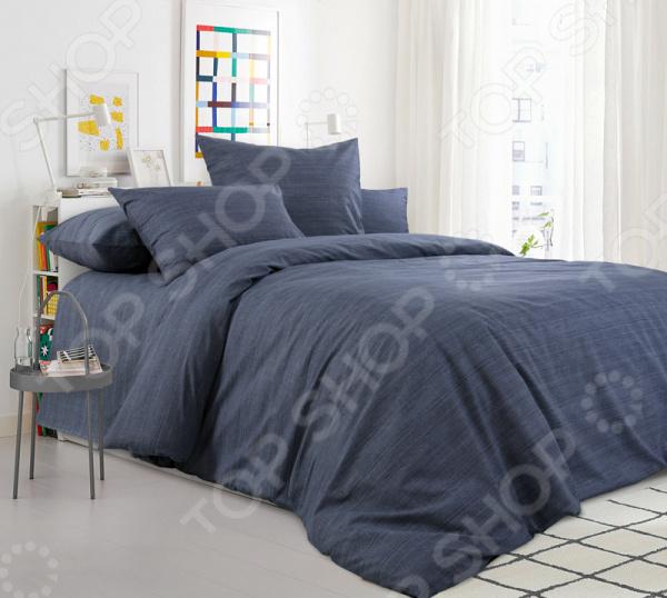Комплект постельного белья ТексДизайн «Графитовый камень» комплект постельного белья altinbasak 1 5 сп ранфорс athletik оранжевый 298 42 char002
