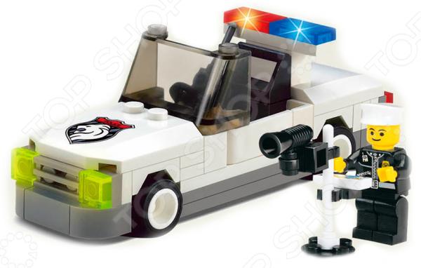 Конструктор игровой Brick «Полицейская машина» 1717087