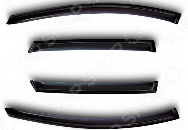 Дефлекторы окон Vinguru Hyundai ix35 2010 дефлекторы окон vinguru hyundai accent 2000 2011