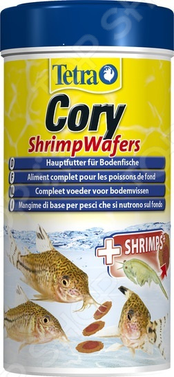 Корм для сомиков-коридорасов Tetra Cory Shrimp Wafers