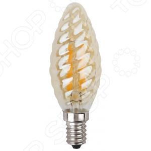 Лампа светодиодная Эра BTW-7W-827-E14 gold