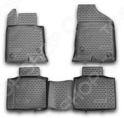 Комплект ковриков в салон автомобиля Novline-Autofamily Ford Ranger 2011 - фото 6