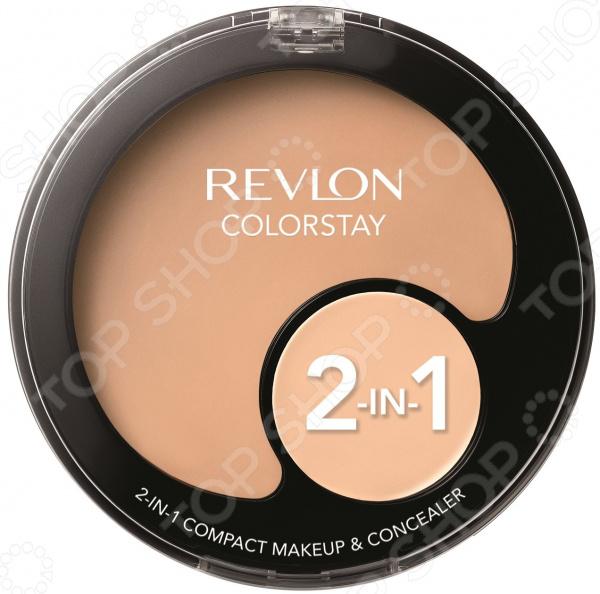 Набор: тональная основа и консилер Revlon Colorstay revlon colorstay тональная основа и консилер 2в1 240 medium beige