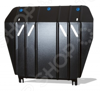 Комплект: защита картера и крепеж Novline-Autofamily Volkswagen Amarok 2010: 2,0 бензин/2,0 дизель МКПП комплект защита картера и крепеж novline autofamily kia spectra 2005 1 6 бензин мкпп акпп