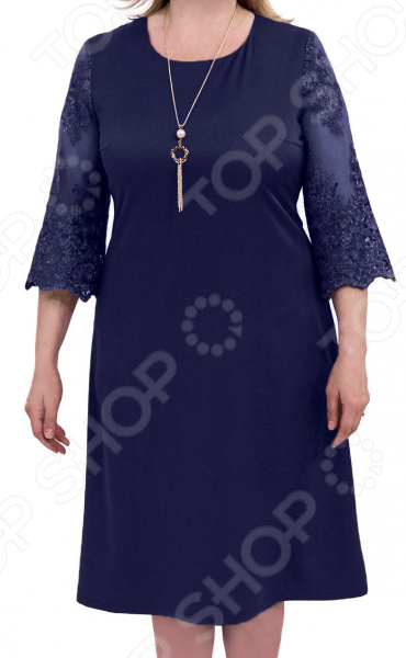 Платье La Reina style «Время мечтаний». Цвет: синий