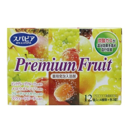 Купить Соль для ванны Fuso Kagaku Premium Fruits