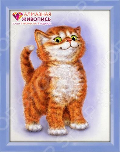 Набор для создания картины со стразами Алмазная живопись «Важный кот»