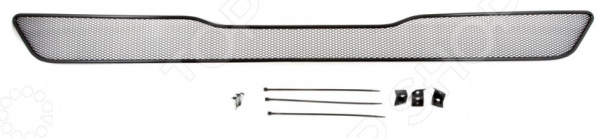 Сетка на бампер внешняя Arbori для Infiniti QX70, 2014. Цвет: черный бампер jc sportline infiniti
