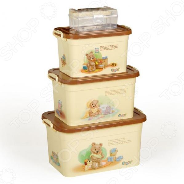 Набор контейнеров для хранения Полимербыт SGHPBKP104 Polly