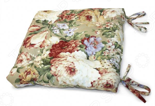 Подушка на стул Kauffort Flower смеси и сыпучие материалы