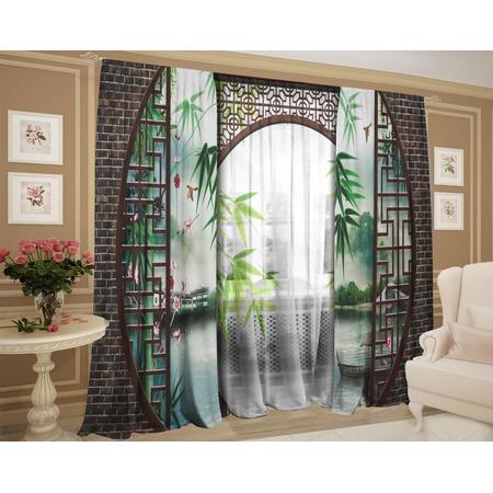 Купить Фотокомплект штор и тюля ТамиТекс «Ворота Шантри»