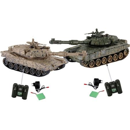 Купить Набор на радиоуправлении Yako «Танковый бой. Абрамс против Тигра»