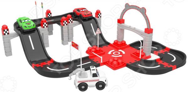 Игровой набор Ucar Oyuncak Racing F1. Количество предметов: 51 шт