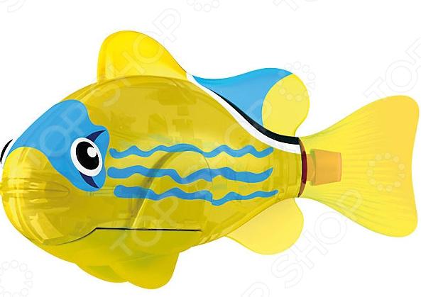 Роборыбка светодиодная Zuru «Желтый фонарь» интернет магазин рыбки в аквариуме