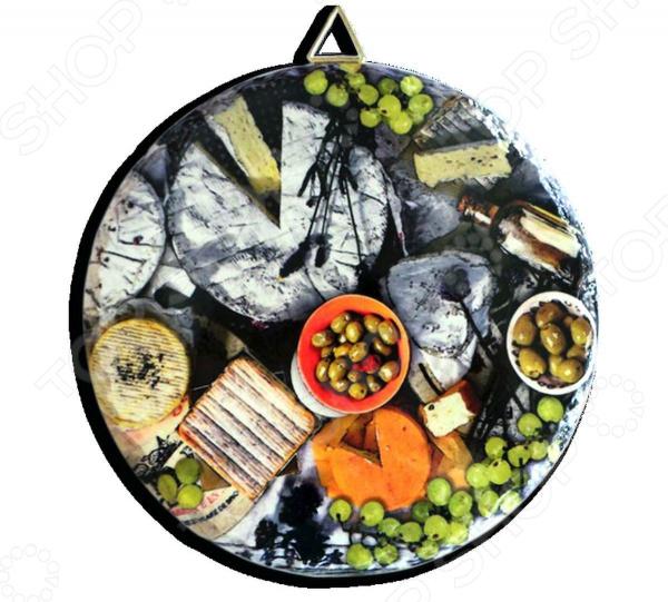 Подставка под горячее Gift'n'home «Сыр и оливы»