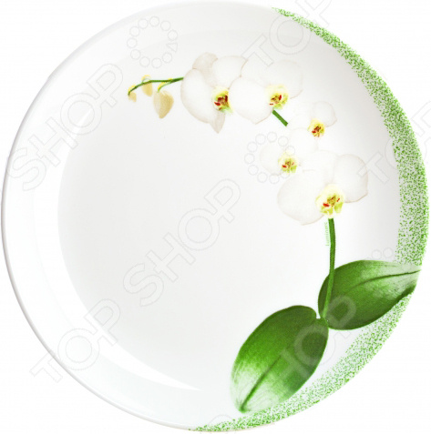 Тарелка десертная Luminarc White Orchid