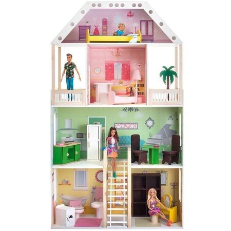 Купить Кукольный дом с аксессуарами PAREMO «Поместье Шервуд»