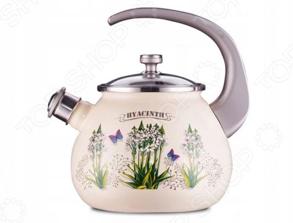 Чайник со свистком LAUREL Hyacinth