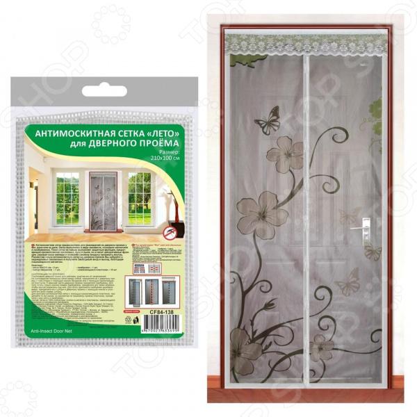 Сетка антимоскитная на дверь Мультидом «Лето» CF84-138