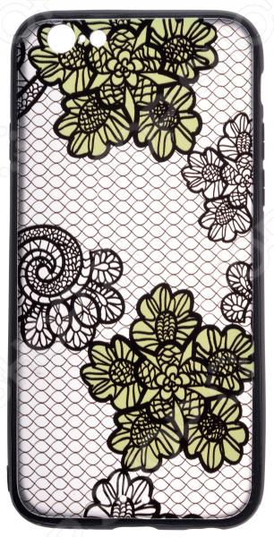 Накладка защитная для iPhone skinBOX Apple iPhone 6/iPhone 6S чехлы для телефонов skinbox чехол skinbox lux apple iphone 7 plus