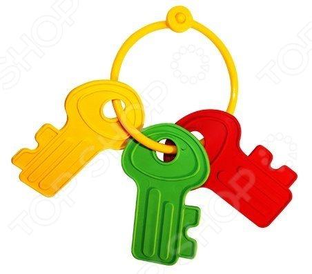 Игрушка-прорезыватель Пластмастер Ключик незаменимая вещь, когда у малыша начинают резаться зубки. Изделие также можно использовать в качестве погремушки или подвесить над кроваткой. Изготовлено из мягкого пластика с учетом возрастных особенностей, поэтому безопасно для ребенка. Яркое оформление порадует и привлечет внимание малыша.