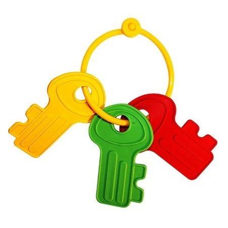 Купить Игрушка-прорезыватель Пластмастер «Ключик»