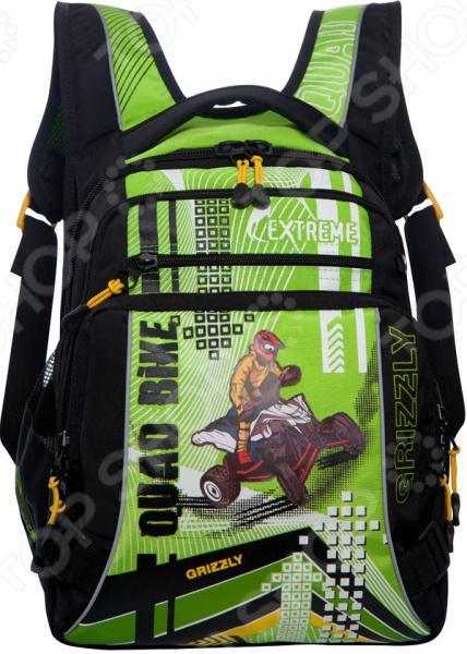 Рюкзак школьный Grizzly RB-631-1