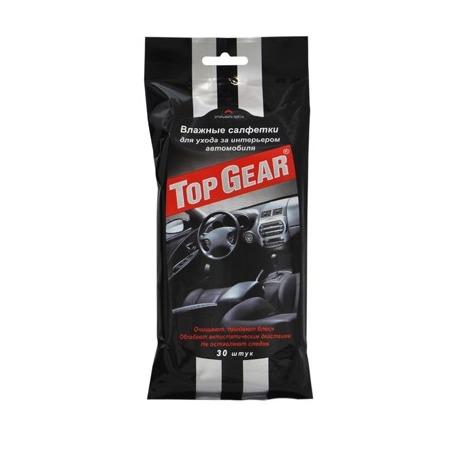 Купить Набор салфеток влажных для ухода за интерьером автомобиля Авангард TG-48039 Top Gear